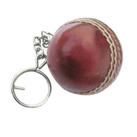 Picture of Cricket Ball Keyring