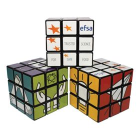 Picture of Rotating Puzzle Cube