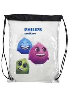 Picture of PVC Clear Drawstring Bag