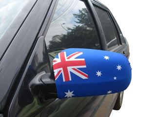Picture of Car Wing Mirror Flag